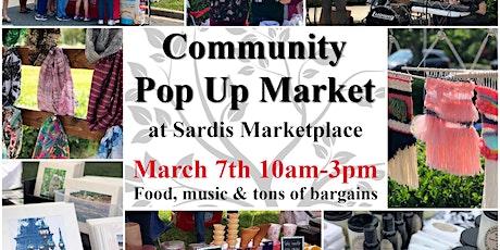 Community Pop Up Market tickets