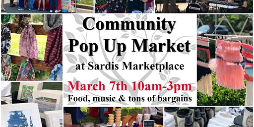 Community Pop Up Market