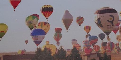 Spring Talks 2020: Hot Air Ballooning