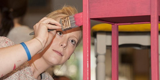 Furniture Painting Class - Upcycle Furniture and Mix your own Chalk Paint
