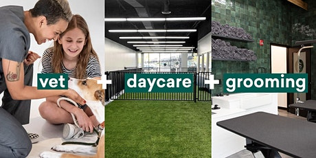 Heart + Paw Callowhill Grand Opening - Vet Care, Daycare + Grooming tickets