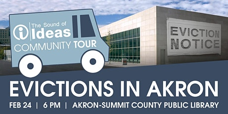 The Sound of Ideas Community Tour: Evictions in Akron tickets