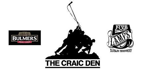 Craic Den Comedy - February 13 VALENTINE SPECIAL!!!!!! tickets