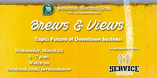 Brews & Views (March 2020) - Future of Downtown business