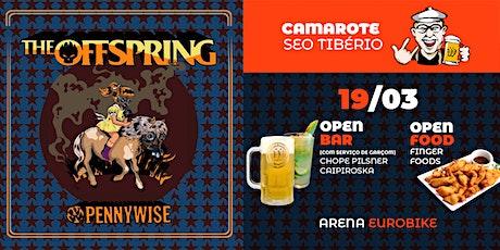 The Offspring em Ribeirão Preto - Camarote Seo Tibério ingressos