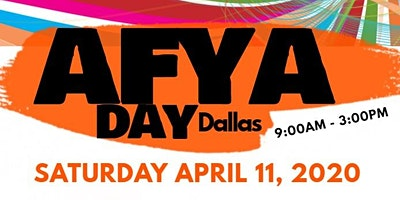 AFYA Day Dallas: Community Fun and Wellness Expo 2020