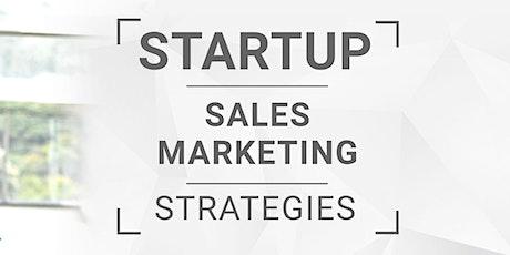 Startup - Sales & Marketing Strategies tickets