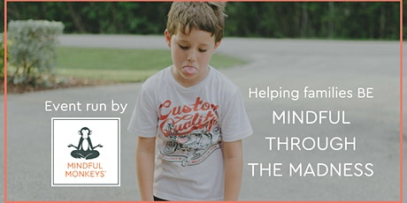 Mindful through the Madness - Helping build connected families & happy kids tickets