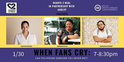 When fans cry: Can you mourn someone you never met?