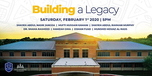 Building A Legacy - Benefit Dinner