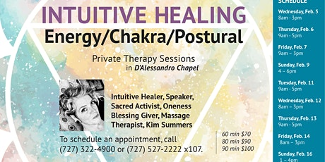 Intuitive Healer / Chakra / Postural Balancing Sessions in St. Petersburg tickets