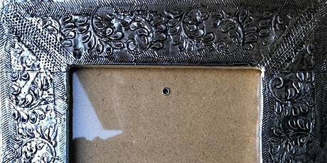 Metal Embossing Picture Frame Workshop February 24th, 2020 tickets