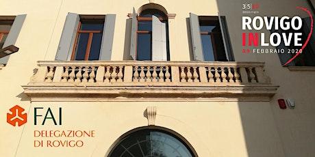 Visita a Palazzo Angeli riservata agli iscritti di Rovigo in Love biglietti