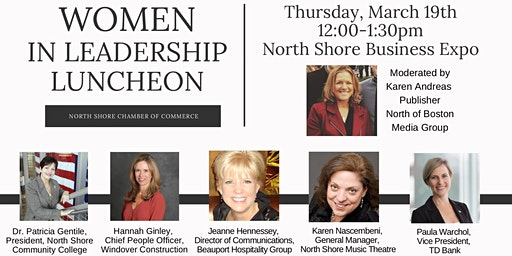 "Thursday, March 19th ""Women in Leadership - Expo Luncheon"""