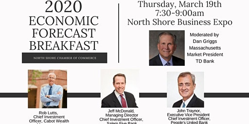 "Thursday, March 19th ""2020 Economic Forecast - Expo Breakfast"""