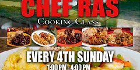 Chef Ras Cooking Class tickets