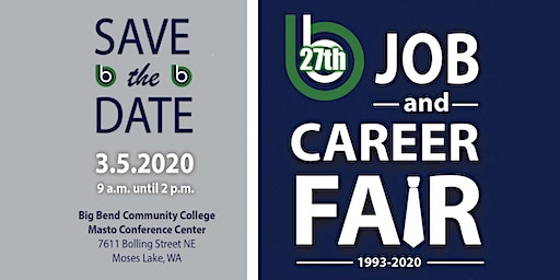 27th Annual Job and Career Fair-Employer & Vendor Registration