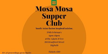 Mosa Mosa Supper Club tickets