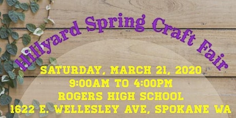 HILLYARD SPRING CRAFT FAIR tickets