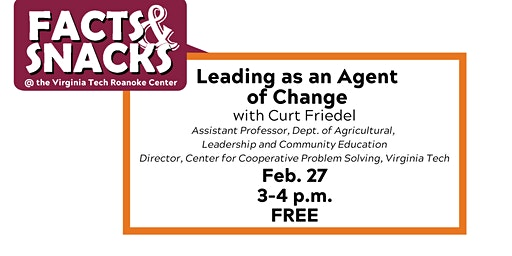 Leading as an Agent of Change
