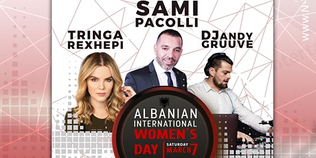 Albanian International Women's Day Party tickets