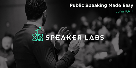 Public Speaking Made Easy - June 2020 tickets