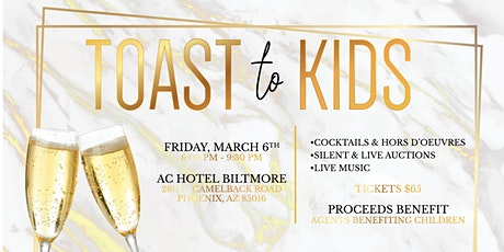 Toast To Kids tickets