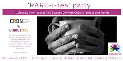 Cambridge Rare Disease Day Rare-i-Tea Party