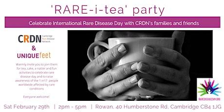 Cambridge Rare Disease Day Rare-i-Tea Party tickets