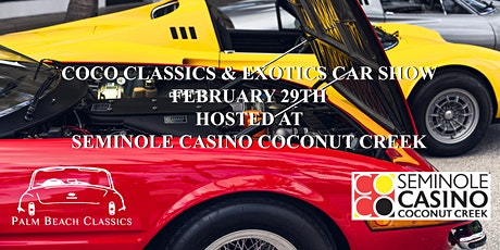 Coco Classics & Exotics Car Show tickets