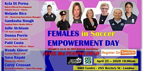 EMSA Females in Soccer Empowerment Day - Level the Playing Field tickets