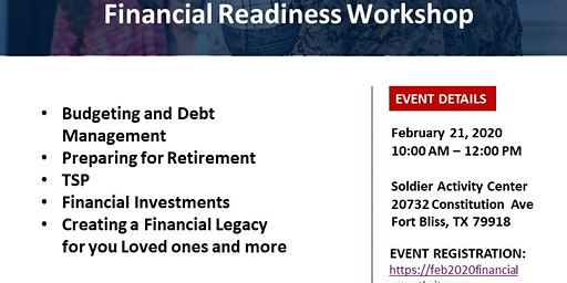 Financial Readiness Workshop