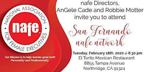 San Fernando Valley NAFE Network Dinner Meeting with Mimi Donaldson tickets