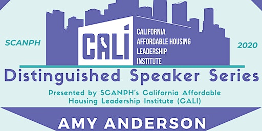 Distinguished Speaker Series: Amy Anderson, Chief Housing Officer
