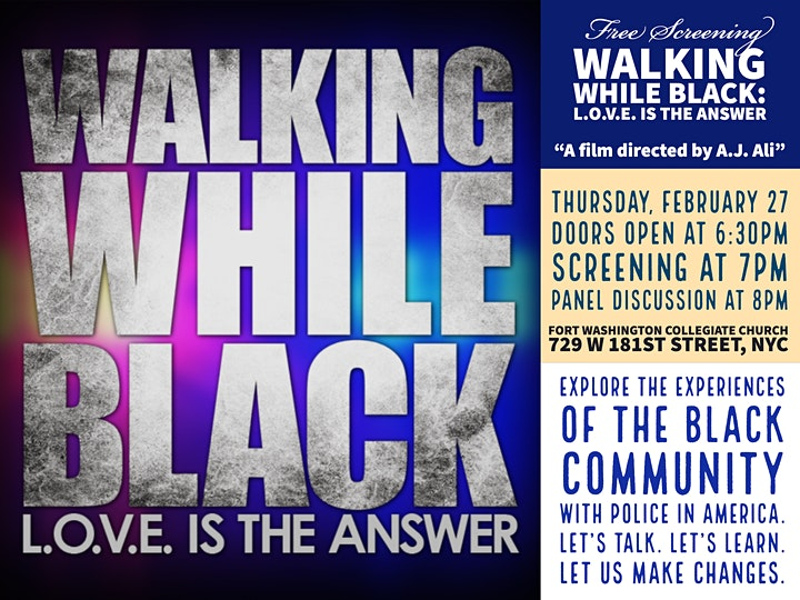 Walking While Black: L.O.V.E. is the Answer image
