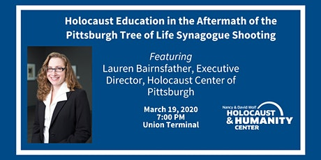 Holocaust Education in the Aftermath of the Tree of Life Synagogue Shooting tickets