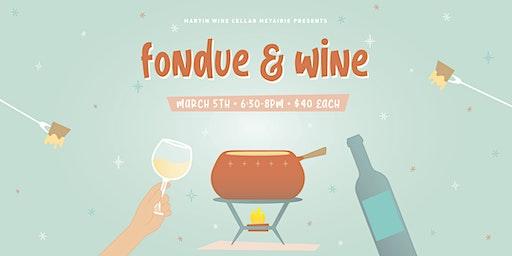 Fondue & Wine