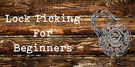 Lock Picking for Beginners tickets