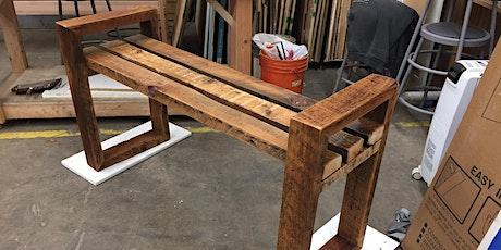 Make a 2x4 Bench tickets