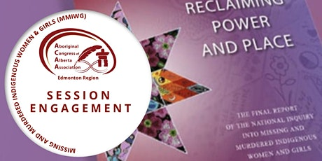 MMIWG Engagement Session tickets