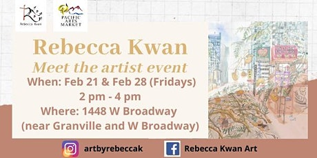 Rebecca Kwan at Pacific Arts Market tickets