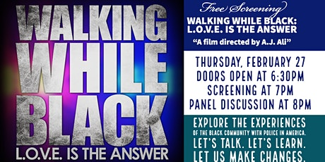 Walking While Black: L.O.V.E. is the Answer tickets