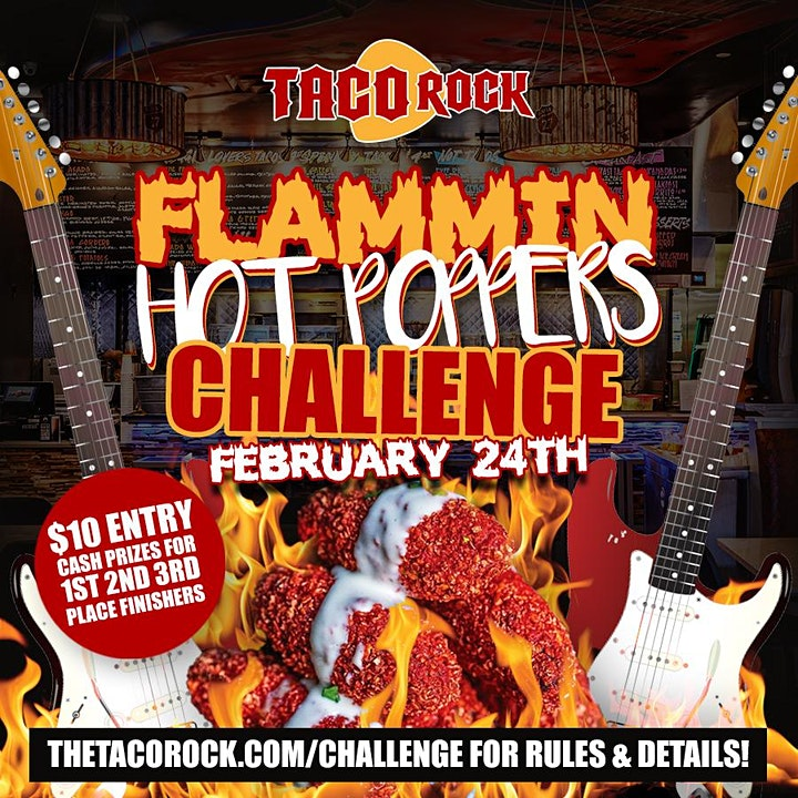 Flammin Hot Poppers Challenge image