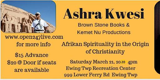 Lecture  Brother Ashra Kwesi 2020