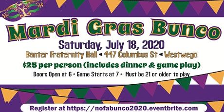 NOFA NOLA's Mardi Gras Bunco 2020 tickets