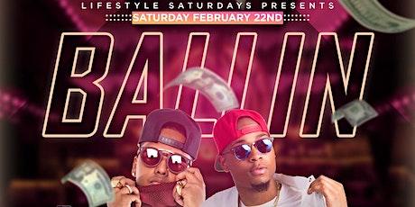Lifestyle Saturdays Presents Ballin | Hennessy Open Bar + Free Entry W/RSVP tickets