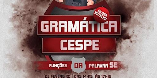 GRAMÁTICA - FUNÇÕES DA PALAVRA SE