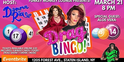 Drag Queen Bingo at Funkey Monkey Lounge