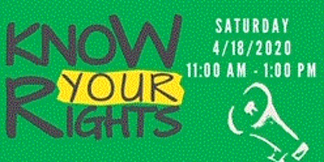 Know Your Rights Seminar tickets