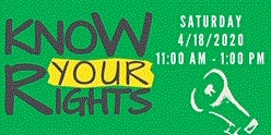 Know Your Rights Seminar